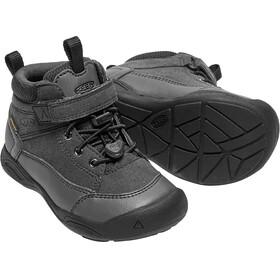 Keen Kids Jasper Waterproof Mid Shoes Black/Raven
